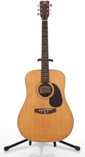 Musical Instruments:Acoustic Guitars, 1970s Sigma DR-7 Natural Acoustic Guitar #14185...
