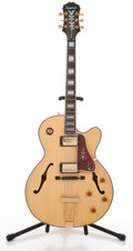 Musical Instruments:Electric Guitars, Epiphone Emperor Joe Pass Factory Second Maple Semi-Hollow BodyElectric Guitar #169994....