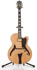Musical Instruments:Electric Guitars, Hofner Jazzica Custom Maple Semi-Hollow Body Electric Guitar#B03307....