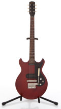Musical Instruments:Electric Guitars, 1968 Gibson Melody Maker Cherry Solid Body Electric Guitar#331712....