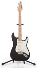 Musical Instruments:Electric Guitars, Fender Starcaster Black Solid Body Electric Guitar#CAP-0050800076....
