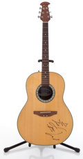 Musical Instruments:Acoustic Guitars, Ovation CC11 Natural Acoustic Guitar, #522022....