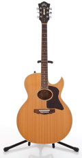 Musical Instruments:Acoustic Guitars, 1987 Guild F-45CE Natural Acoustic Electric Guitar #GB100518....
