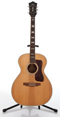 Musical Instruments:Acoustic Guitars, Guild F47 Natural Acoustic Guitar #50678....