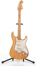 Musical Instruments:Electric Guitars, 1960's Cortez Strat Copy Natural Solid Body Electric Guitar#N/A....