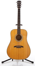 Musical Instruments:Acoustic Guitars, 1987 Alvarez DY-59 Natural Acoustic Guitar #71440....