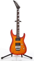 Musical Instruments:Electric Guitars, Jackson Fire Burst Solid Body Electric Guitar #9858354....