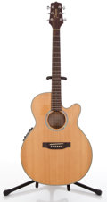 Musical Instruments:Acoustic Guitars, Takamine AMEG546SC Natural Acoustic Electric Guitar #4421971....