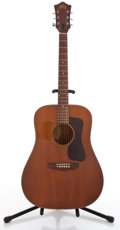 Musical Instruments:Acoustic Guitars, Vintage Guild D25M Cherry Acoustic Guitar #118779....
