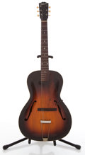 Musical Instruments:Acoustic Guitars, Vintage Gibson Project Guitar Sunburst Archtop Acoustic Guitar#DG-3622....