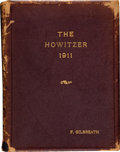 Military & Patriotic:WWI, 1911 Edition of The Howitzer, Being the Year Book of the UnitedStates Corps of Cadets....