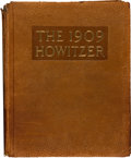 Military & Patriotic:WWI, 1909 Edition of The Howitzer the Book of the United States CorpsCadets, George S. Patton's Graduating Class....