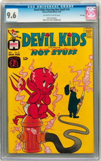Devil Kids Starring Hot Stuff #14 - File Copy (Harvey, 1964) CGC NM+ 9.6 Off-white to white pages