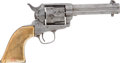 Military & Patriotic:Indian Wars, Scroll Engraved Colt SAA Revolver, .44 Rimfire Series, #747, Matching....
