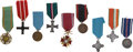 Military & Patriotic:Foreign Wars, Poland Nine Military, Civil, and Commemorative Medals... (Total: 9 Items)