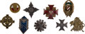 Military & Patriotic:Foreign Wars, Poland Nine Military Badges... (Total: 9 Items)