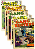 Silver Age (1956-1969):Miscellaneous, Gang Busters Group (DC, 1957-58) Condition: Average VF-.... (Total:5 Comic Books)
