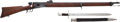 Military & Patriotic:Foreign Wars, Very Scarce, Superb Condition, M1881 Swiss Vetterli Caliber 10.4 MM Stutzer Rifle as Issued to Sharpshooters #18992 Match... (Total: 2 Items)