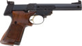 "Military & Patriotic:WWII, High Standard Supermatic ""Citation"" (Model 107 Military)Semi-Automatic Pistol and Extra Magazine.... (Total: 2 Items)"