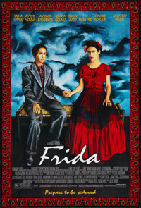 "Frida (Miramax, 2002). One Sheet (27"" X 40"") DS. Drama"