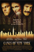 """Movie Posters:Crime, Gangs of New York (Miramax, 2002). One Sheets (3) (27"""" X 40"""") DS Advance Cameron Diaz and Leonardo DiCaprio Styles and DS Re... (Total: 3 Items)"""