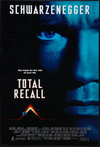 """Total Recall (Tri-Star, 1990). One Sheet (27"""" X 40"""") SS Advance. Science Fiction"""