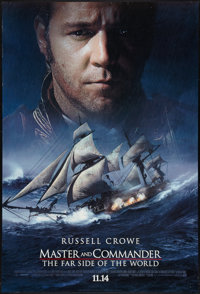 "Master and Commander Lot (20th Century Fox, 2003). One Sheets (2) (27"" X 40"") DS Advance Styles. Adventure..."
