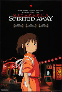"Spirited Away (Buena Vista, 2002). One Sheet (27"" X 40"") DS. Adventure"
