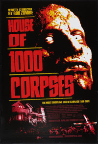 """House of 1000 Corpses Lot (Gate, 2003). One Sheets (2) (27"""" X 40"""") DS. Horror. ... (Total: 2 Items)"""