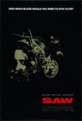 "Movie Posters:Horror, Saw Lot (Lions Gate, 2004). One Sheets (2) (27"" X 40"" and 27"" X 41"") DS Regular and Advance Style. Horror.. ... (Total: 2 Items)"