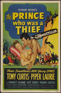 "The Prince Who Was a Thief (Universal International, 1951). One Sheet (27"" X 41""). Adventure"