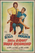 """Movie Posters:Comedy, Miss Grant Takes Richmond (Columbia, 1949). One Sheet (27"""" X 41""""). Comedy.. ..."""