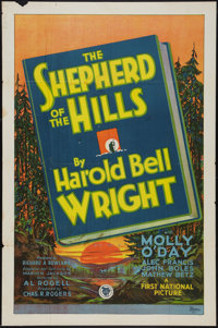 "The Shepherd of the Hills (First National, 1928). One Sheet (27"" X 41"") Style A. Drama"