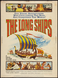 "The Long Ships (Columbia, 1964). Poster (30"" X 40""). Adventure"
