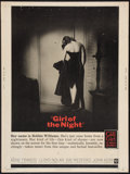 """Movie Posters:Drama, Girl of the Night Lot (Warner Brothers, 1960). Poster (30"""" X 40"""") and Lobby Cards (2) (11"""" X 14). Drama.. ... (Total: 3 Items)"""