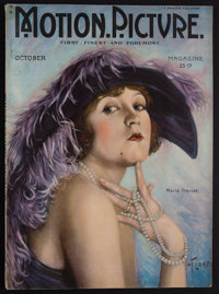 """Motion Picture Magazine (M.P. Publishing Co., October, 1922). Magazine (126 Pages, 8.5"""" X 11.75""""). Miscellaneo..."""