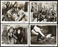 "The Mark of Zorro (20th Century Fox, 1940). Photos (4) (8"" X 10""). Swashbuckler. ... (Total: 4 Items)"