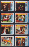 "Movie Posters:Drama, Playgirl (Universal International, 1954). CGC Graded Lobby Card Setof 8 (11"" X 14""). Drama.. ... (Total: 8 Items)"