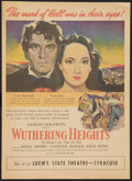 """Movie Posters:Romance, Wuthering Heights (United Artists, 1939). Newspaper Supplement(15.5"""" X 21.5""""). Romance.. ..."""