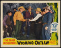 "Movie Posters:Western, Wyoming Outlaw (Republic, 1939). Lobby Card (11"" X 14""). Western....."
