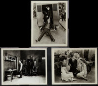 """The Cameraman Lot (MGM, 1928). Photos (3) (8"""" X 10""""). Comedy. ... (Total: 3 Items)"""