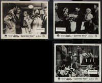 """Loving You (Paramount, 1957). British Front of House Photos (3) (8"""" X 10""""). Elvis Presley. ... (Total: 3 Items..."""