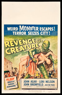 "Revenge of the Creature (Universal International, 1955). Window Card (14"" X 22""). Horror"