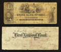 Obsoletes By State:Ohio, Logan, OH- State Bank of Ohio $1 Oct. 1, 1852. St. Mary's, OH-First National Bank Check $2 Sep. 10, 1897. ... (Total: 2 notes)