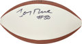 Football Collectibles:Balls, Jerry Rice Signed Football....