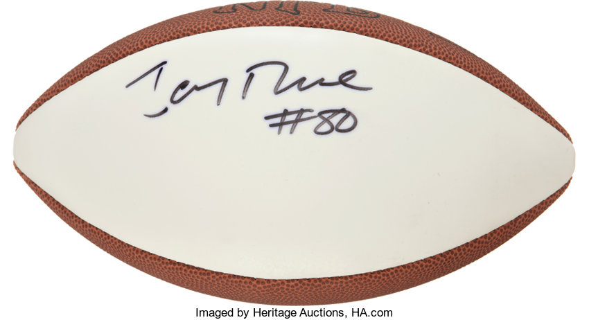 770db497b Jerry Rice Signed Football.... Football Collectibles Balls | Lot ...