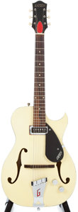 Musical Instruments:Acoustic Guitars, 1957 Gretsch Rambler Smoke Green Semi-Hollow Body Electric Guitar #23014....