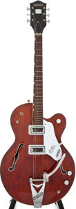 Musical Instruments:Acoustic Guitars, 1967 Gretsch Tennessean Burgundy Semi-Hollow Body Electric Guitar,#17733....
