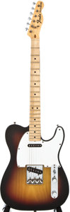 Musical Instruments:Acoustic Guitars, 1974 Fender Telecaster Sunburst Solid Body Electric Guitar,#639610....