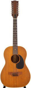 Musical Instruments:Acoustic Guitars, 1966/69 Gibson LG-12 Natural 12 String Acoustic Guitar, #846423....